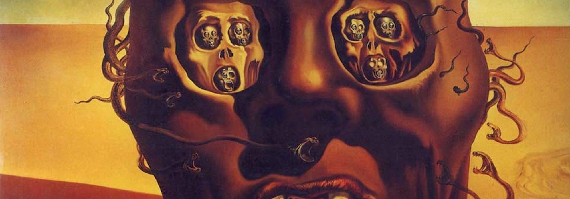 O Rosto da Guerra - Salvador Dalí