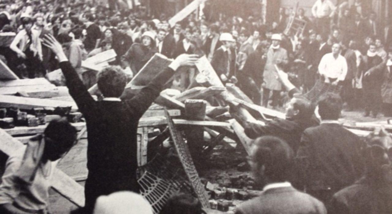 Foto: Maio de 68/Boulevard Saint-Germain (Cartier-Bresson, reprodução)