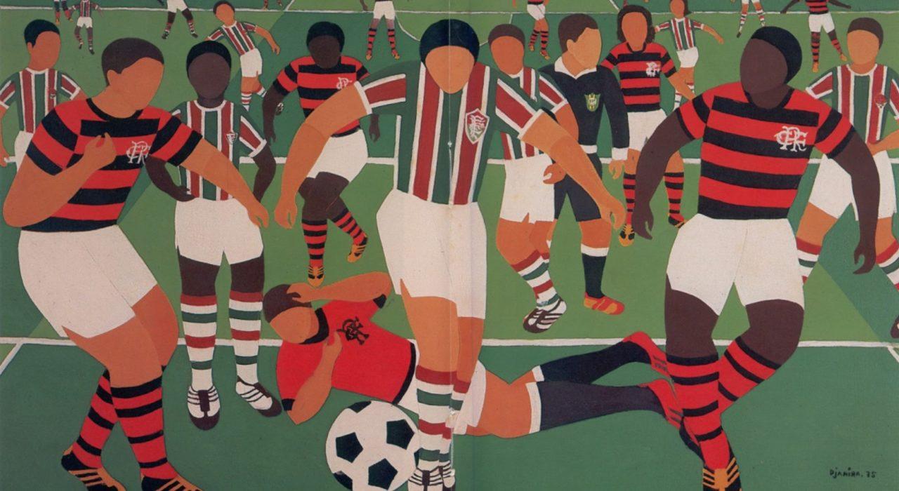 Imagem: Futebol Fla-Flu (Djanira, 1975)