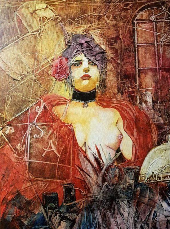 Carmen, da série Musas do artista. Foto: Divulgação