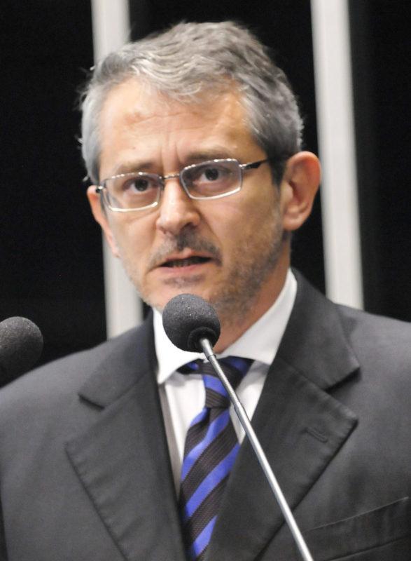 Otavio Frias Filho. Foto: Jeso Carneiro/Ag. Senado