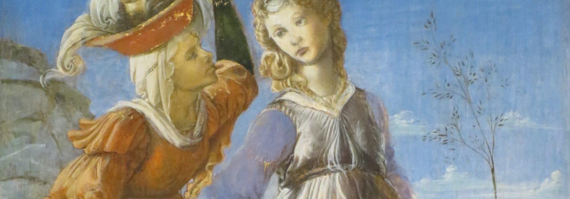 Imagem: Retorno de Judite a Betúlia (Botticelli, detalhe)