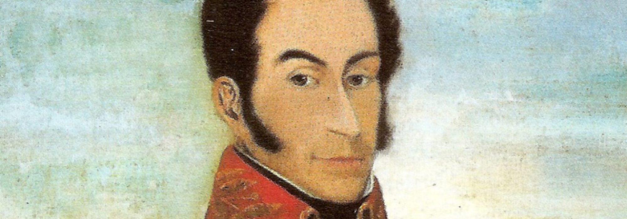 Imagem: Retrato del Libertador, de Juan Antonio Michelena