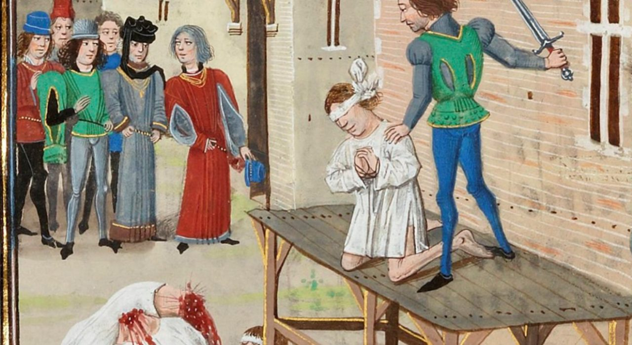 Imagem: Exécution d'Olivier de Clisson (1343)