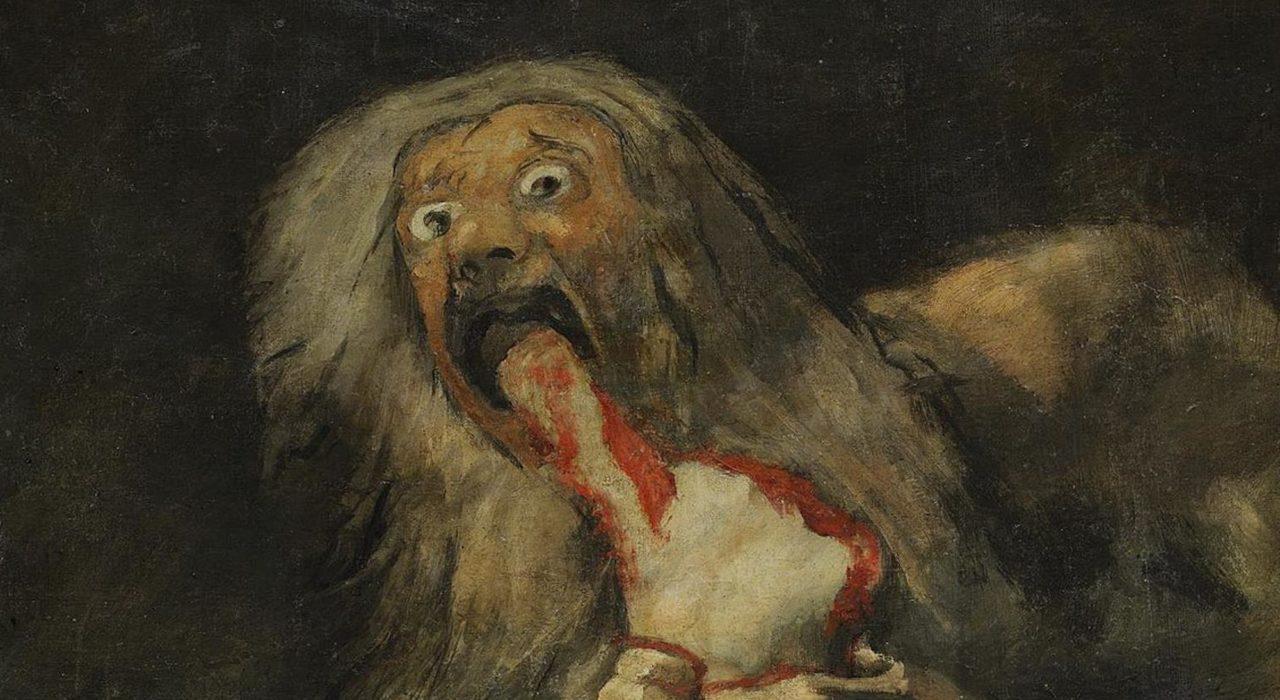 A Ira de Saturno - Francisco Goya (Museu do Prado)