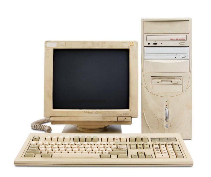 Computadores dos anos 1990, os primeiros a ter internet no Brasil: avanços estavam só começando