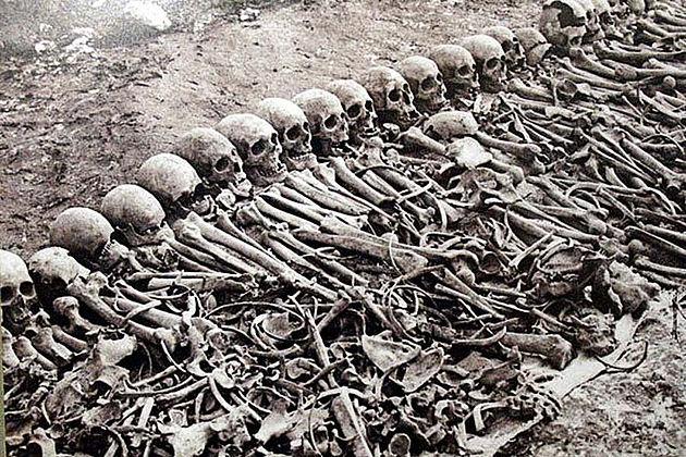 Ossadas de vítimas do genocídio armênio: culpados ainda não admitiram atrocidades