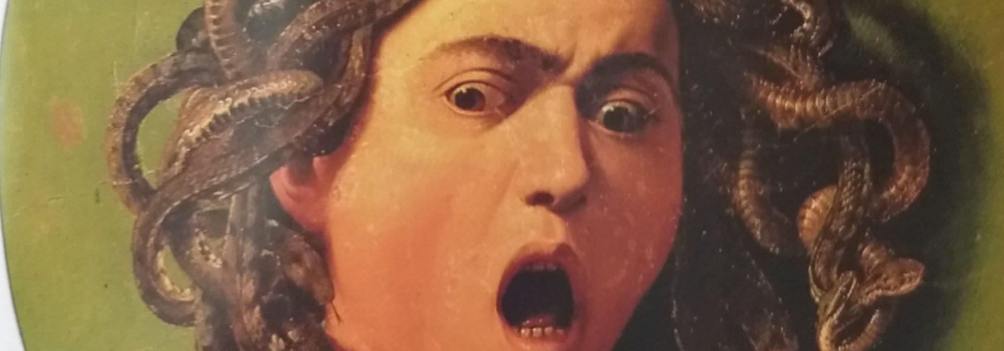 Imagem: Cabeça de Medusa (Caravaggio, 1596)