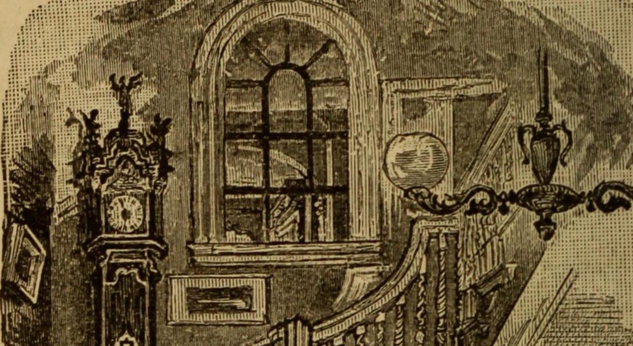 Imagem: Reprodução da capa do livro Henry Wadsworth Longfellow; a biographical sketch (1882, detalhe)
