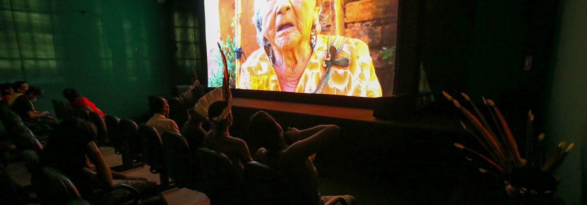 Foto: Mostra Cinema Povos do Cerrado no Fica 2018 (Agência Brasil)