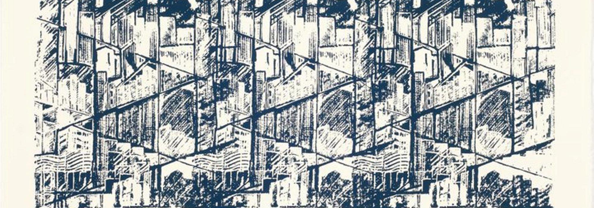 Imagem: Serigrafia da série Metrópolis (ZéCésar, 2010)