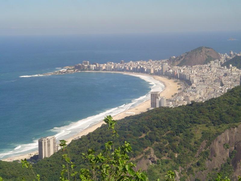 Vista da Praia de Copacabana: caldeirão cultural que ganhou o mundo. / Foto: Rogério Borges