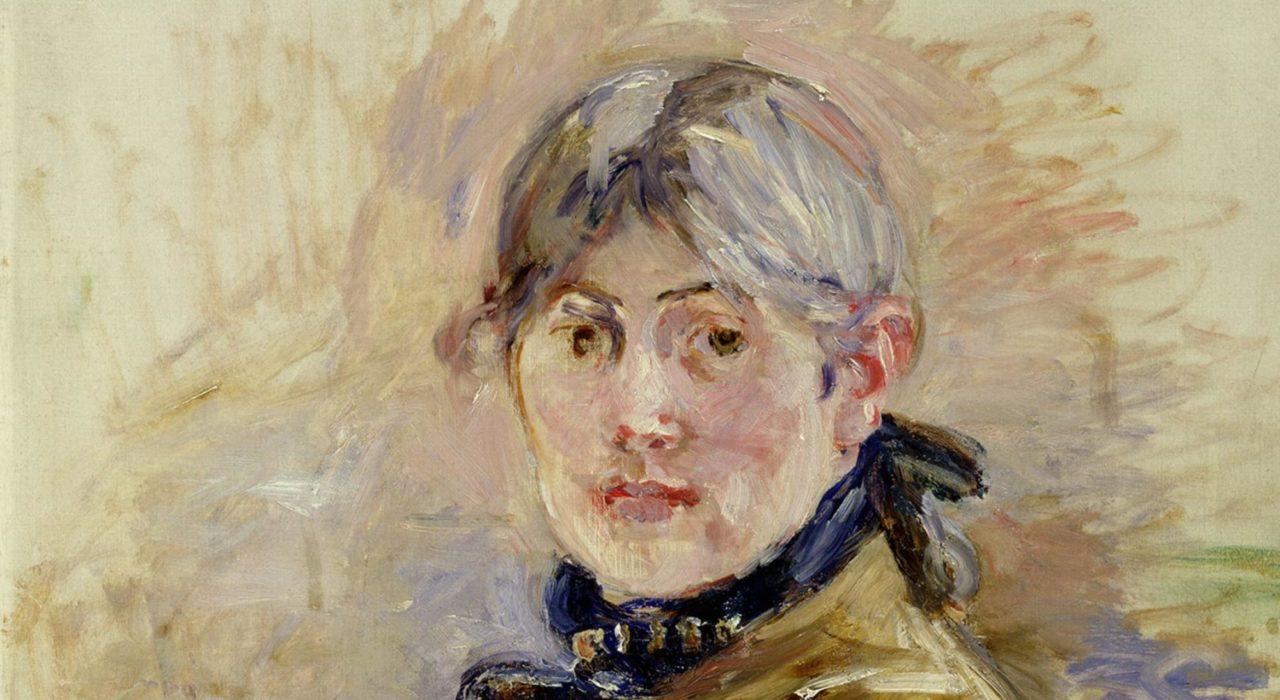 Imagem: Autoportrait (Berthe Morisot, detalhe)