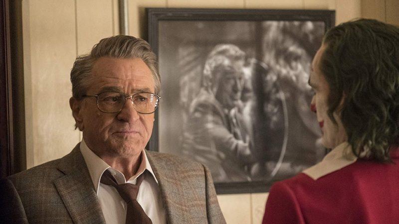 Robert De Niro em Coringa: participação que gera uma cena de tirar o fôlego