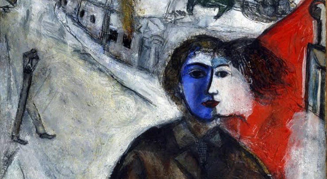 Imagem: Entre cachorro e lobo (Marc Chagall)