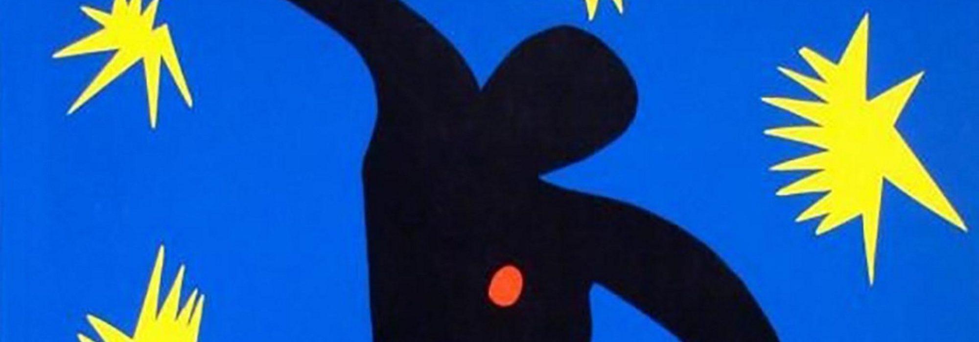Imagem: Icarus from Jazz (Matisse, 1947, detalhe)