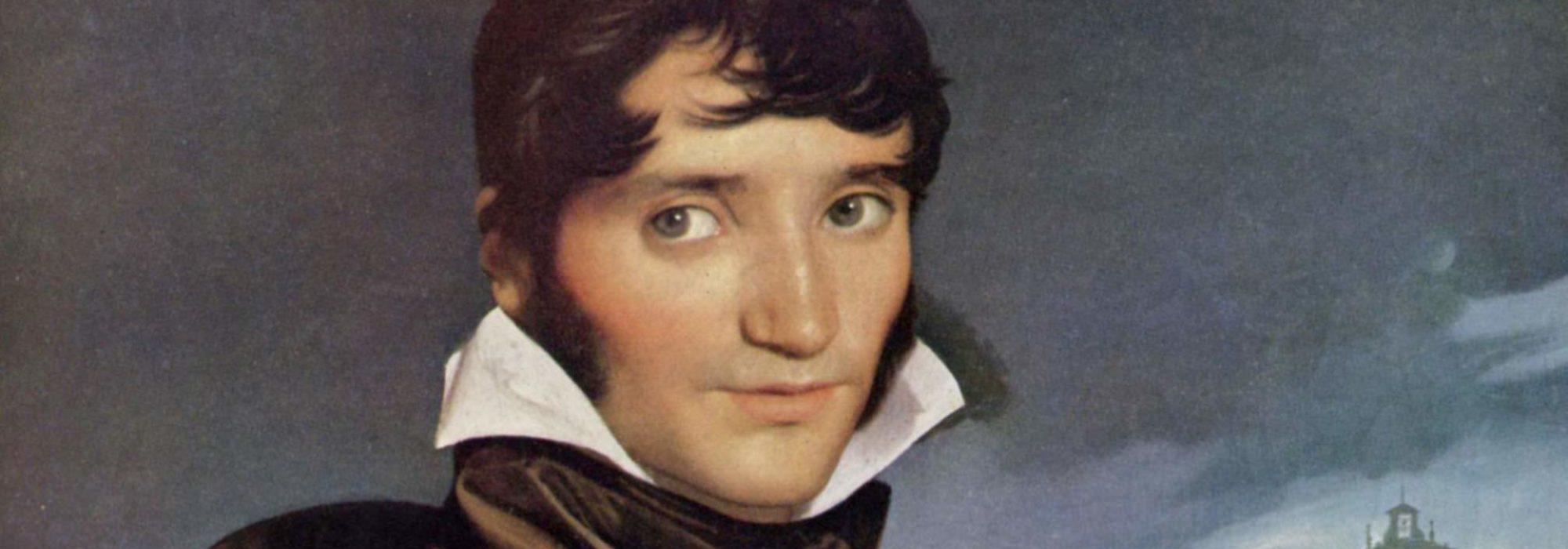 Imagem: retrato de François-Marius Granet (Ingres, detalhe)