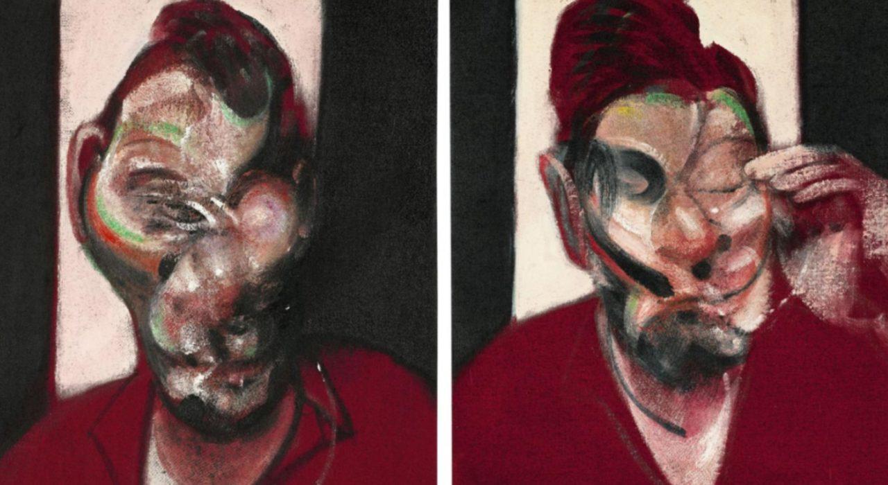Imagem: Three Studies of Portrait of Lucien Freud (Francis Bacon, detalhe)