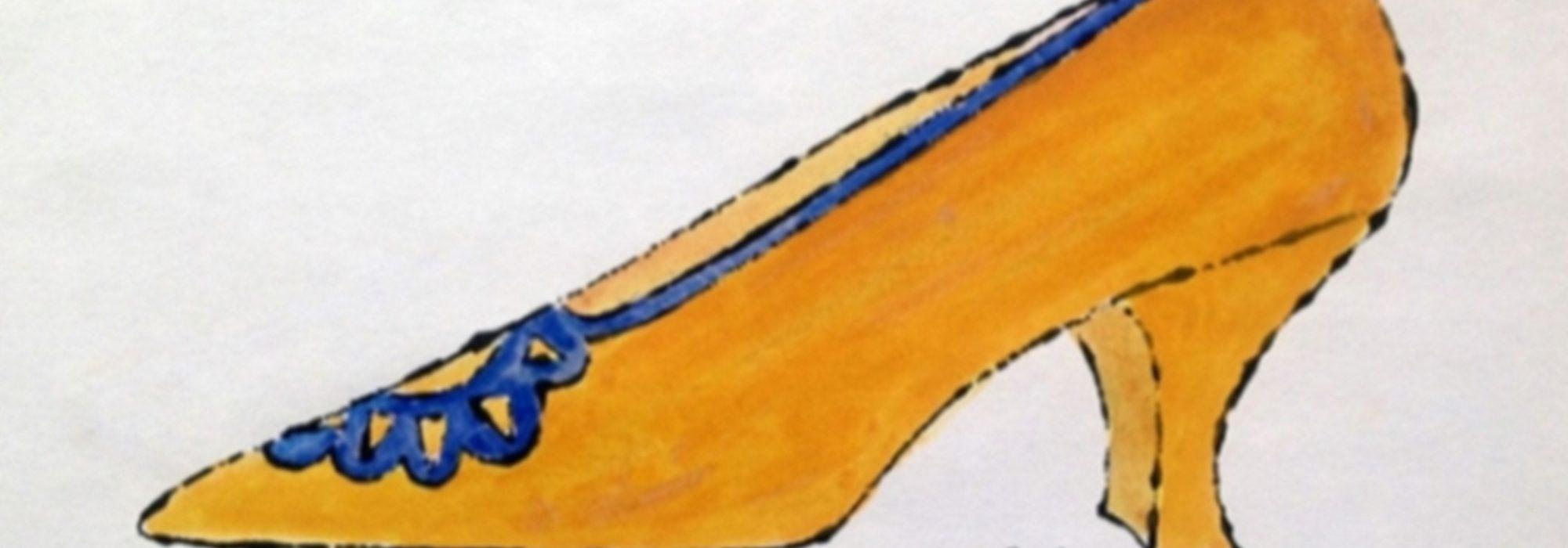 Imagem: Shoe Fly Baby (Andy Warhol)