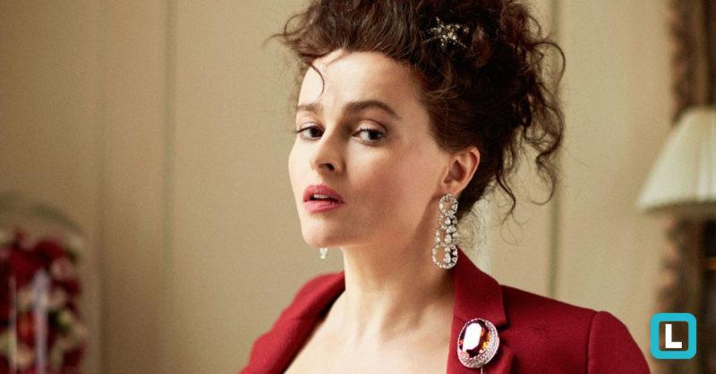 Helena Bohan-Carter como a princesa Margareth, a irmã rebelde da rainha: outro show de interpretação. / Foto: Divulgação