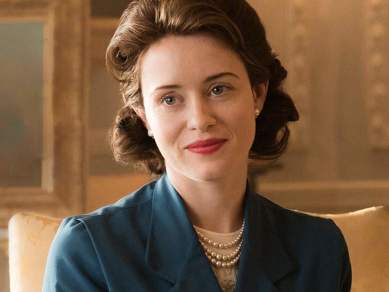 Claire Foy como a jovem Elizabeth II: mescla de carisma, tristeza e poder. / Foto: Divulgação