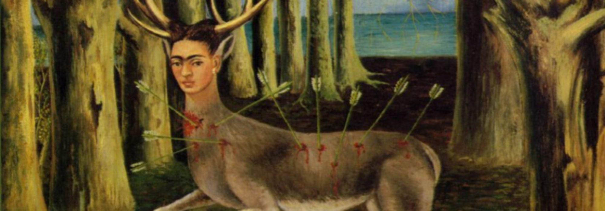 Imagem: Cervo Ferido (Frida Kahlo, 1946)