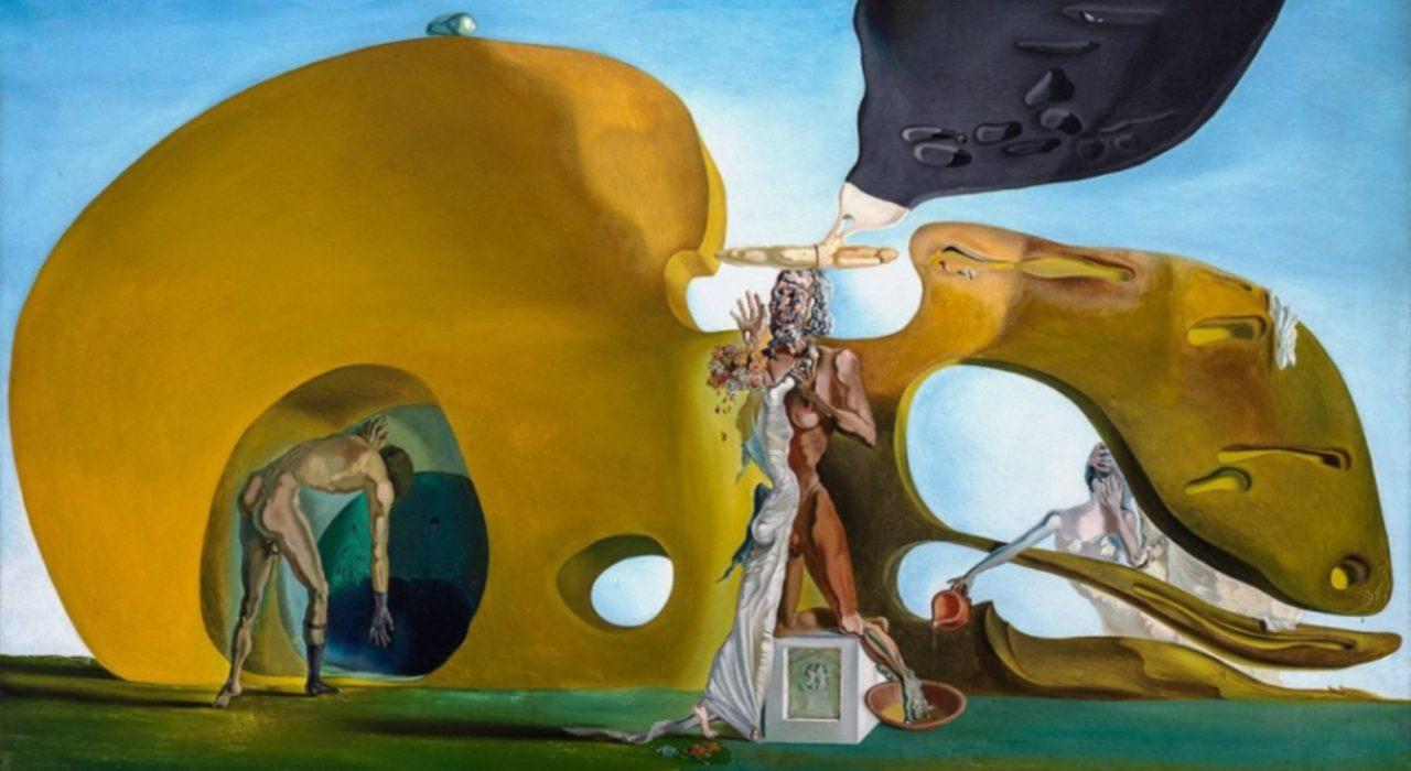 Imagem: O Nascimento dos Desejos Líquidos (Salvador Dalí, 1932, detalhe)