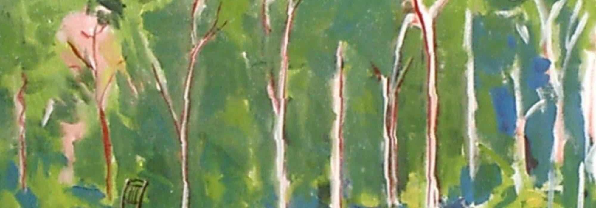 Imagem: Cadeira na Floresta (Leo Pincel, 2004)