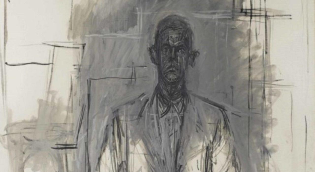 Imagem: James Lord (Giacometti, 1964, detalhe)