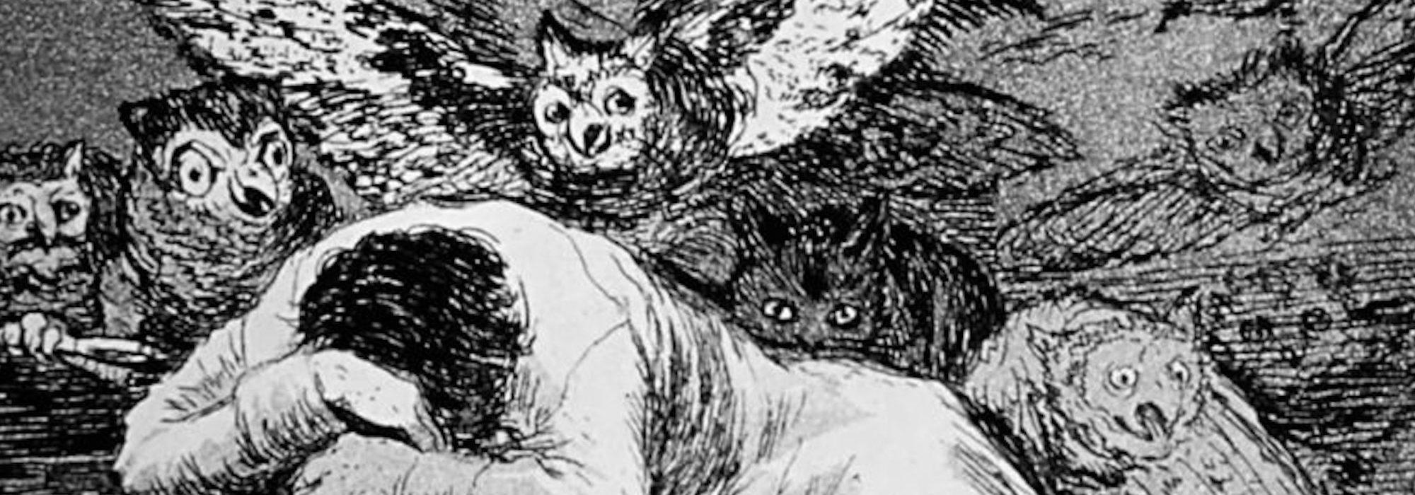 O Sono da Razão Produz Monstros - Goya