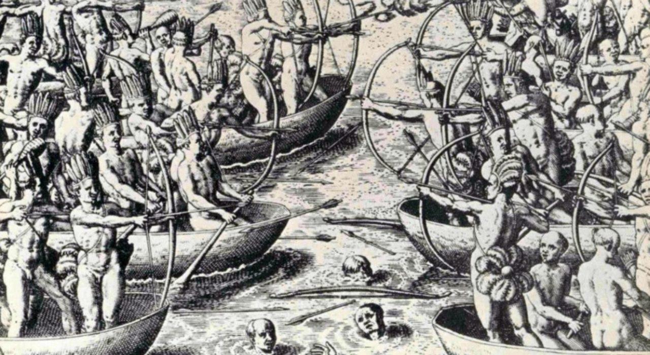 Imagem: Duas Viagens ao Brasil (Theodore de Bry, 1557)