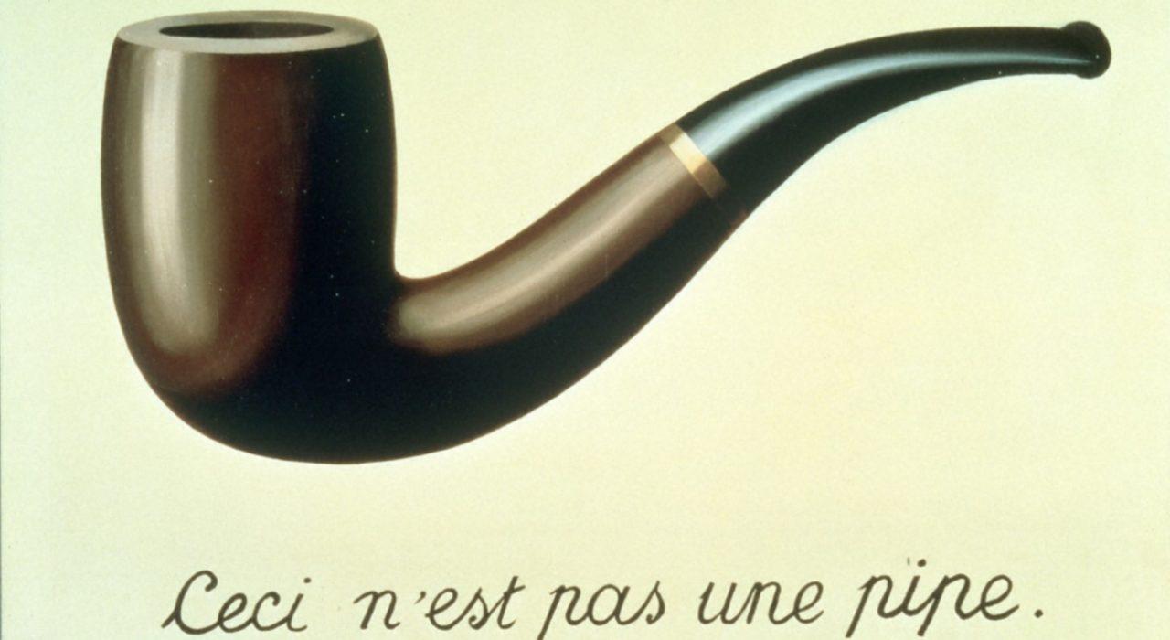 Imagem: Ceci n'est pas une pipe (Magritte, 1929)