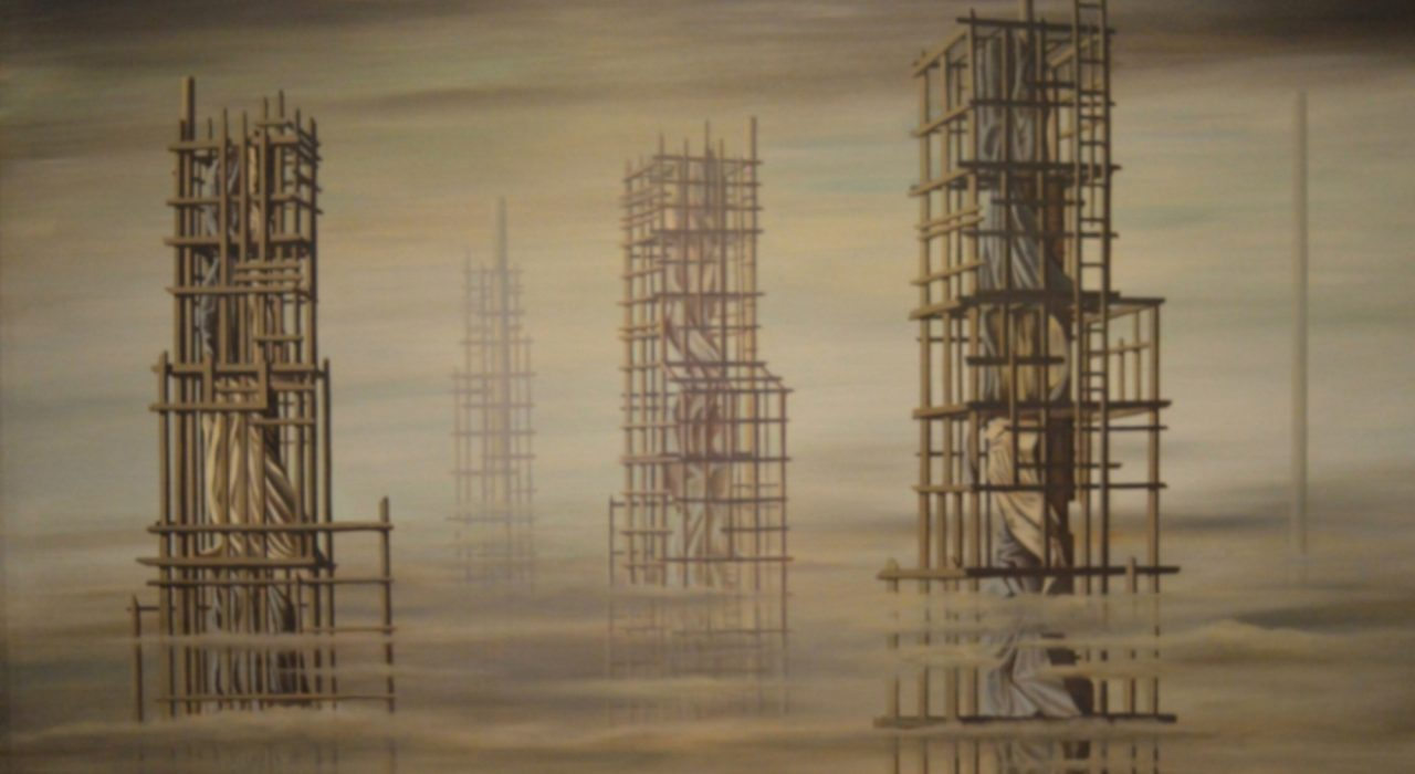 Imagem: Tomorrow is Never (Kay Sage, 1955)