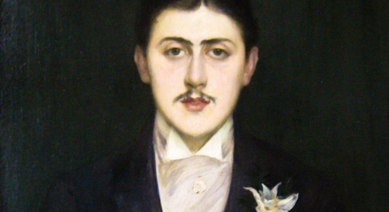 Imagem: Retrato de Marcel Proust (Jacques-Emile Blanche, 1892)