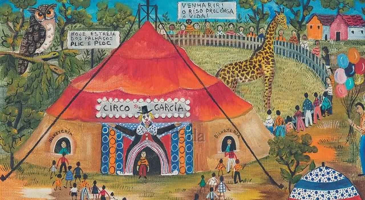 Imagem: Circo Garcia (Rosina Becker do Valle, 1988)