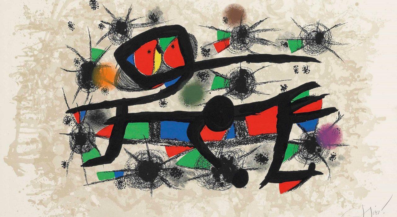 Imagem: Peinture=Poésie (Joan Miró, 1976)