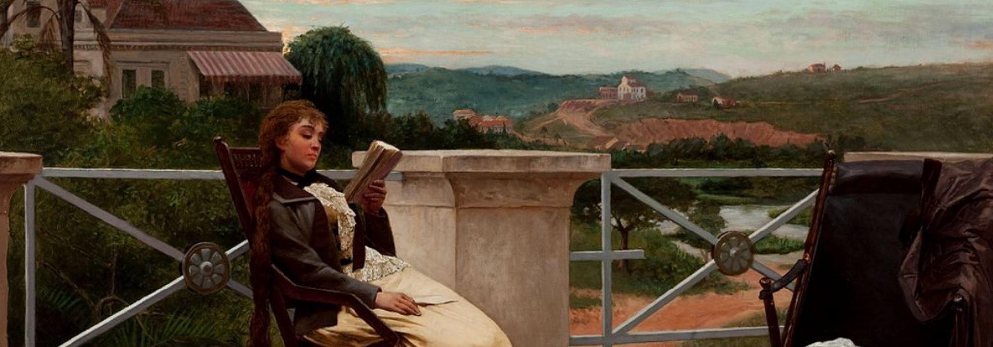 Imagem: Leitura (Almeida Júnior, 1892)