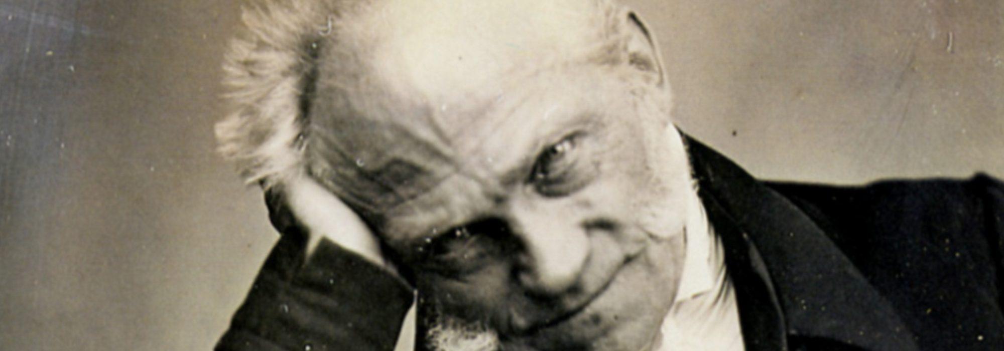 Imagem: Retrato de Arthur Schopenhauer (1852)