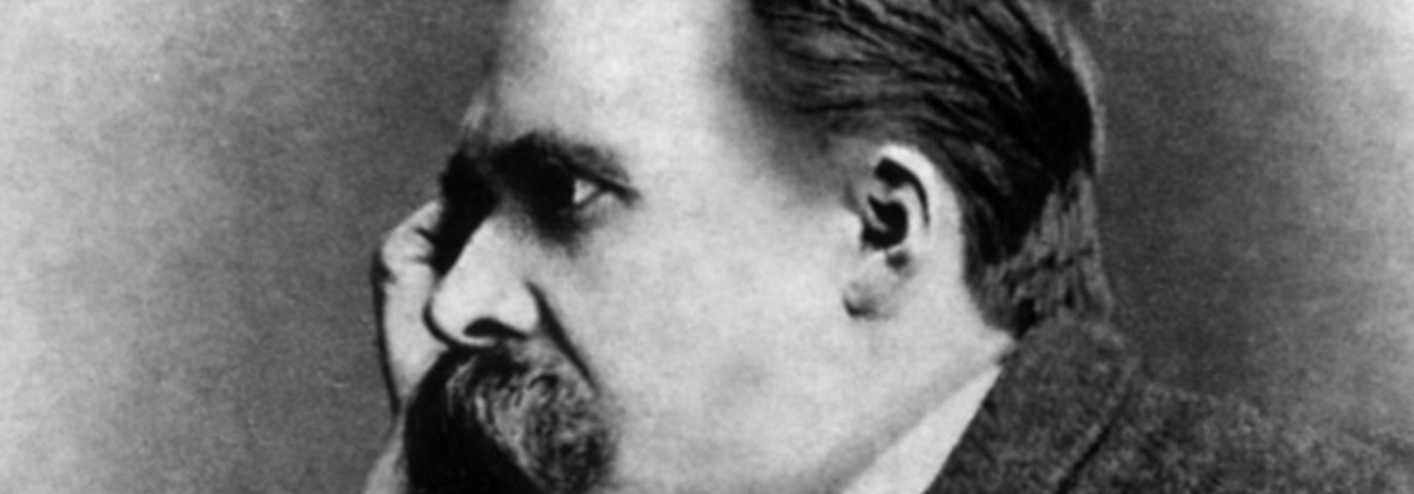 Foto: retrato de Nietzsche por Gustav Adolf Schultze (1882)