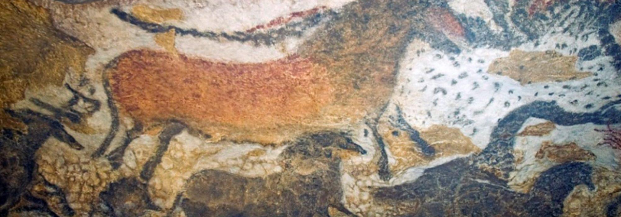 Imagem: pintura rupestre de Lascaux II