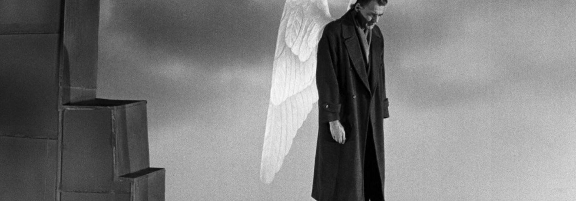 Imagem: cena do filme Asas do Desejo (Wim Wenders, 1987)