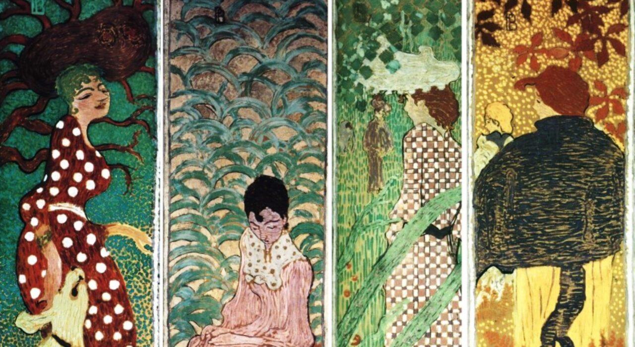 Imagem: Femmes au Jardin (Pierre Bonnard, 1891, detalhe)