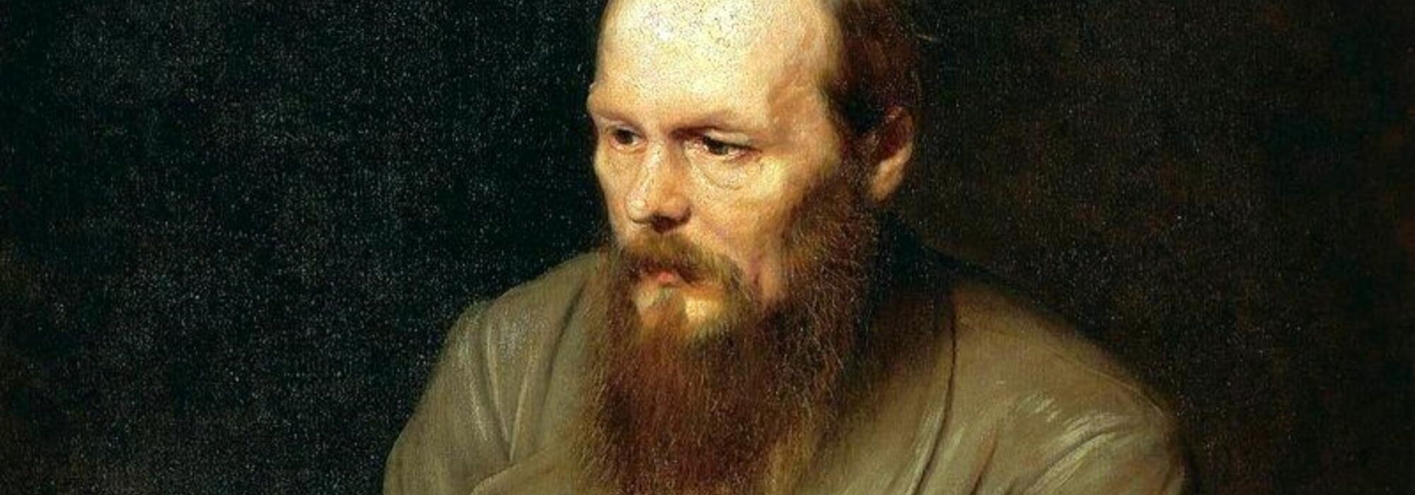 Imagem: Retrato de Fiódor Dostoiévski (Vassilij Grigorovič Perov, 1872, detalhe)