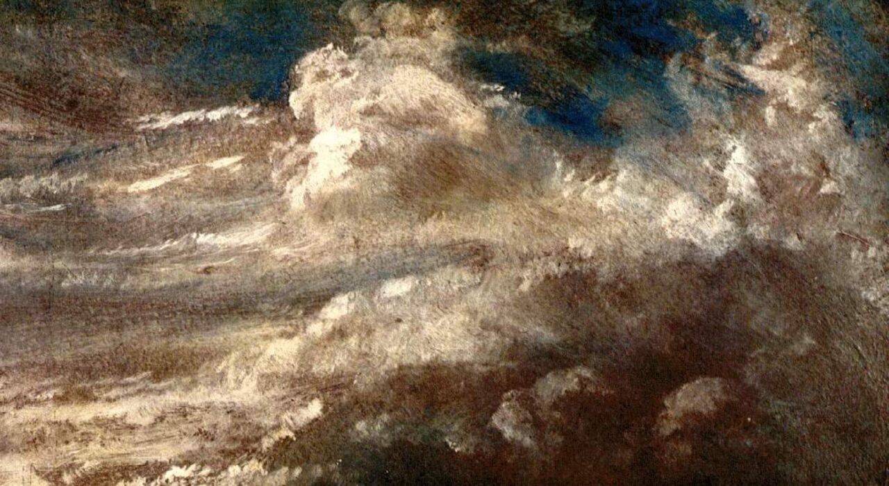Imagem: Estudo das Nuvens (John Constable, 1822)