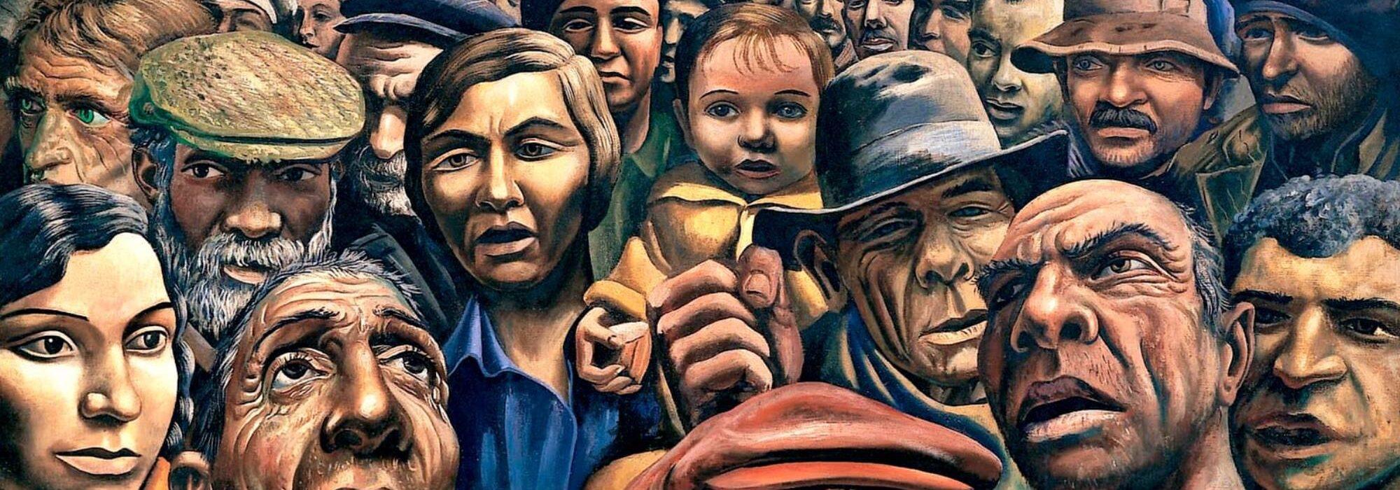 Imagem: Manifestación (Antonio Berni, 1934)
