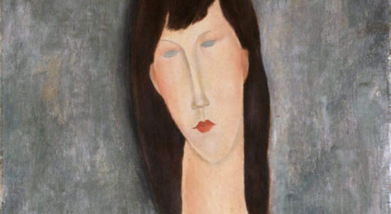Imagem: Busto de Mulher (Modigliani, 1919, detalhe)