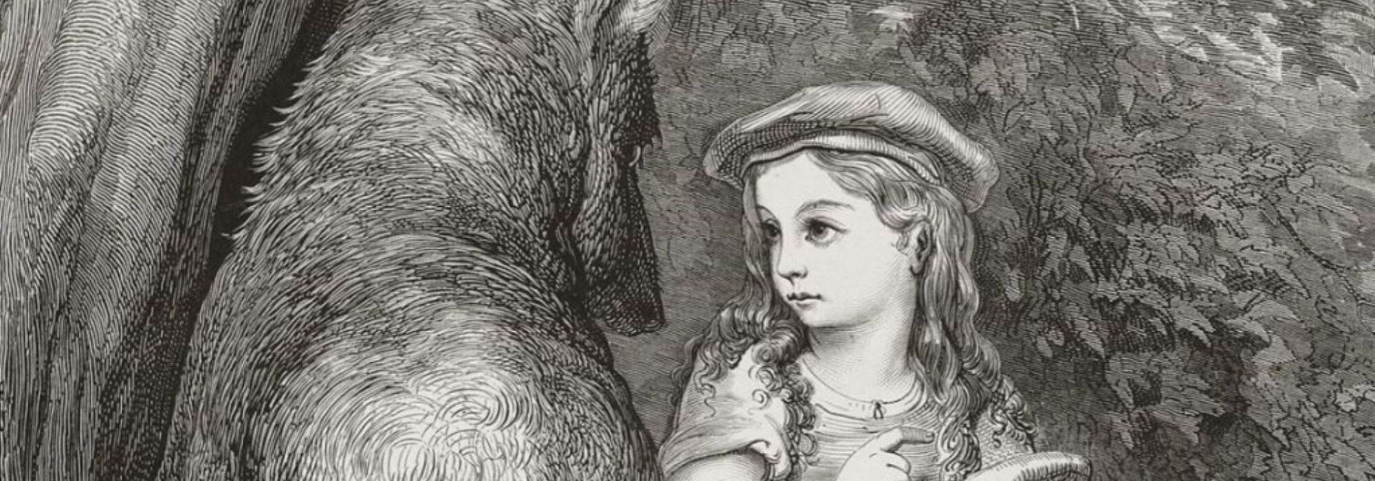 Imagem: Chapeuzinho Vermelho (Gustave Doré, 1862)