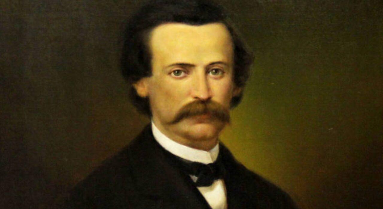 Imagem: Retrato de Henry Timrod (P.P. Carter, 1895)