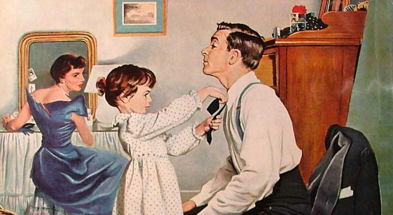 Ilustração: George Hugues, 1955 (reprodução)