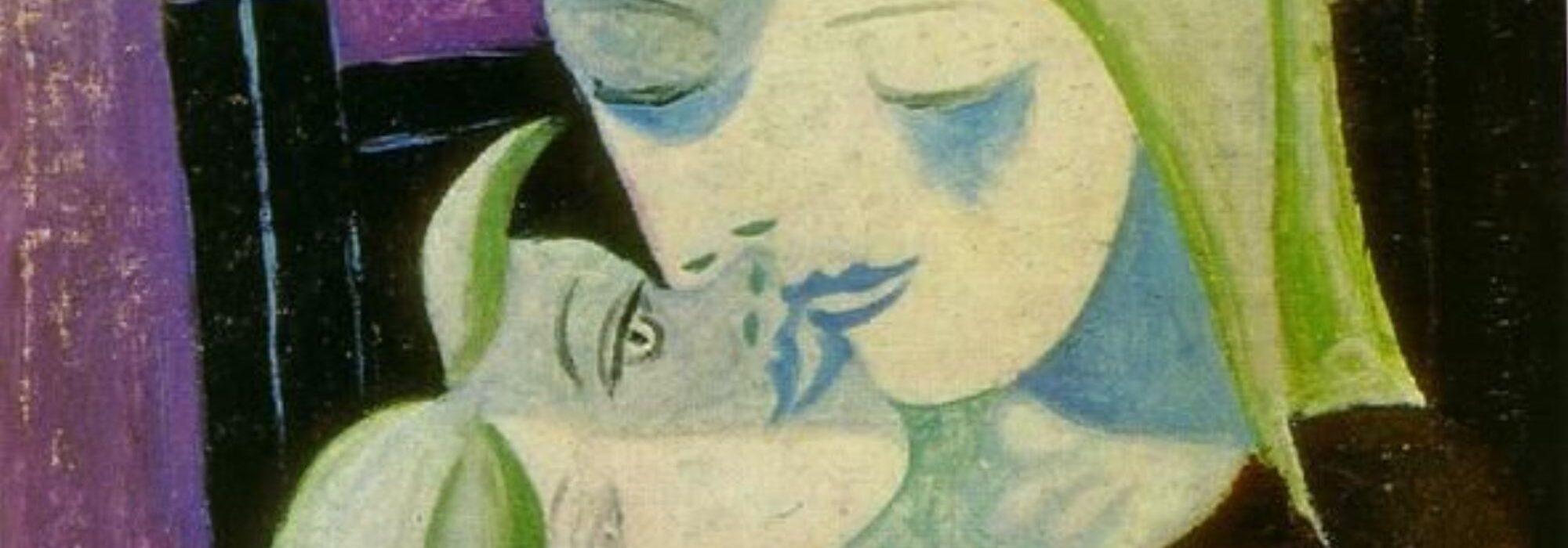 Imagem: Mulher e filho (Picasso, 1921, detalhe)